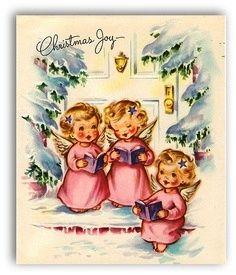 Ангелы рождественские и новогодние