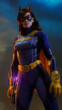 Batgirl In Gotham Knights Game 4K Ultra HD Mobile Wallpaper. Heroes Dc Comics, Dc Comics Girls, Dc Comics Characters, Dc Comics Art, Marvel Dc Comics, Dc Batgirl, Batwoman, Nightwing, Batman Gotham Knight