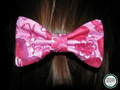 Sigma Kappa Lilly Pulitzer Fabric Bow  MEDIUM by ASETX on Etsy, $10.00
