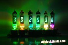 Build a 6-Tube YS9-4 VFD Digital Clock - VFDCLOCK-电子制作网