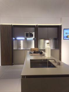 Armadi Office-cucina di Maistri, nello show-room di Actualspottimilano