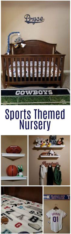 Take a Virtual Tour of Our Sports Themed Nursery   Dallas Socials