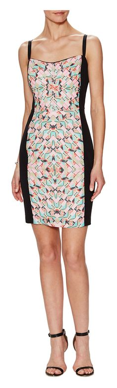 Corey Lynn Calter Joelle Graphic Print Sheath Dress - on #sale 50% off @ #Gilt  #CoreyLynnCalter