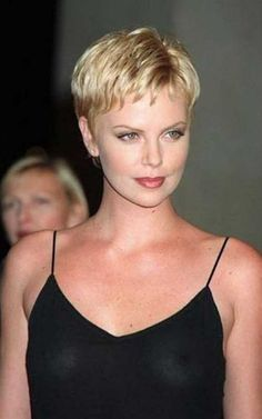 7.Charlize Theron Pixie Haircuts