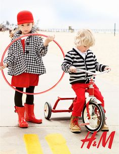 i think ill want my kids to match sometimes. haha (: maybe not the red pants for the boy though. hah