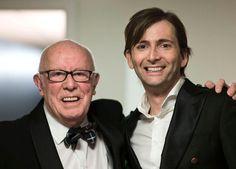 PHOTO OF THE DAY - 20th May 2015:   David Tennant and Richard Wilson at the Scottish BAFTA (2013)