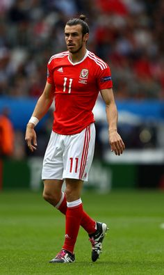 Gareth Bale of Wales is seen during the UEFA EURO 2016 Group B match between Wales and Slovakia at Stade Matmut Atlantique on June 11, 2016 in Bordeaux, France