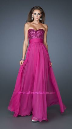 18584 | La Femme Fashion 2013 - La Femme Prom Dresses - Dancing with the Stars available at Binns of Williamsburg