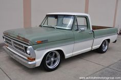 1971 Ford F100 SWB | | Such a cool idea, totally rebuilt but left the body as is, with all it's patina.
