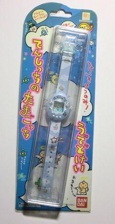 Original Bandai Angelgotchi Angel Tamagotchi Tenshitchi Watch Blue Silver Wings | eBay
