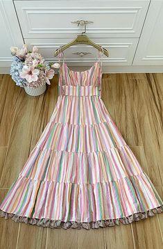 Stylish Dresses For Girls, Casual Dresses, Girls Dresses, Frock Fashion, Fashion Dresses, Pretty Dresses, Beautiful Dresses, African Dresses For Kids, Kids Dress Wear