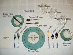 table setting properly | kitchen | pinterest | facebook, tables