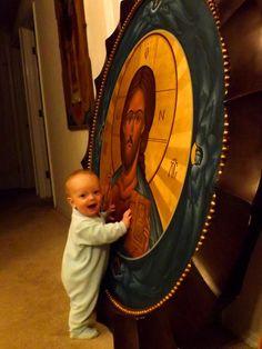 Orthodox Way of Life: Photo Catholic Art, Roman Catholic, Orthodox Christianity, Jesus Cristo, Believe In God, Orthodox Icons, Sacred Art, Christian Art, Way Of Life