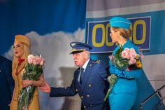 "Performance ""Boeing Boeing"" 14.02.2014 in Kiev #rbgroupkiev #rbgroupcomua"