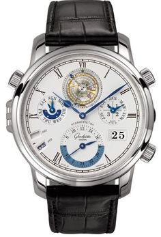 Glashütte Original Grande Cosmopolite Tourbillon -- the top end of GO's new (and phenomenal) linupe for 2012...a GORGEOUS piece...
