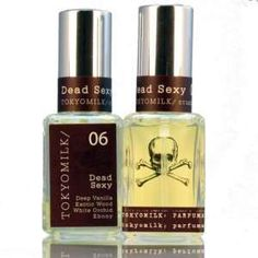 TokyoMilk Dead Sexy No. 6 Parfum. Woody Oriental, Powdery and Exotic with Vanilla, Woody Notes, Ebony, and White Orchid