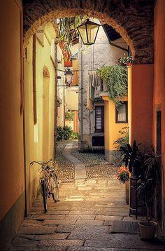 Mergozzo, Piamonte, Italia