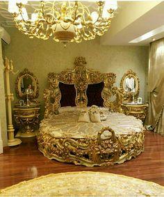 Bedroom Design Ideas – Create Your Own Private Sanctuary Royal Bedroom, Bedroom Sets, Dream Bedroom, Home Bedroom, Modern Bedroom, Bedroom Decor, Deco Furniture, Unique Furniture, Luxury Furniture