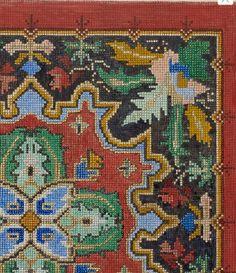 Big Rugs, Square Patterns, Stitch 2, Weaving Patterns, Bed Spreads, Needlepoint, Cross Stitch Patterns, Needlework, Mandala