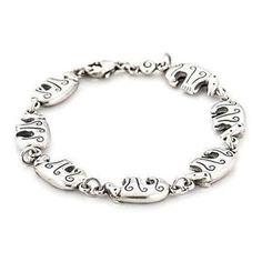Oriental, Charmed, Bracelets, Silver, Vintage, Jewelry, Jewlery, Jewerly, Schmuck