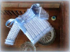 En lana, perlé y angora para bebé: abril 2014 Baby Wearing, Baby Knitting, Lana, Fabric, Pattern, Kids, How To Wear, Crafts, Blog