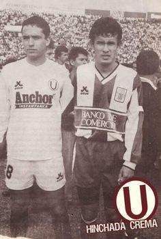 Año 1992, Martínez junto a Reynoso cuando éste último no tenía idea de lo que era ser campeón del fútbol peruano...