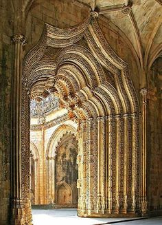 Batalha Monastery, District of Leiria, Portugal