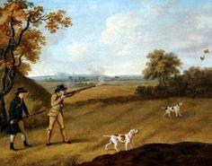 Partidge Shooting (1810)  by John Nost Sartorius