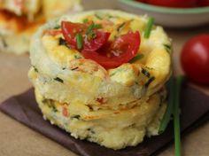 Découvrez la recette Mini-quiches sans pâte sur cuisineactuelle.fr.