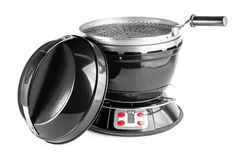 http://www.motorhomepartsandaccessories.com/portablecookinggrills.php has some information on how to shop for portable cooking grills that can be utilized on the go.