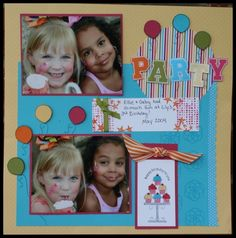Party! Scrapbook Page