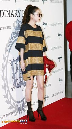 Dara at Seoul Fashion Week - Ordinary People