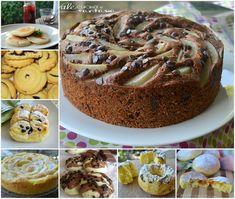 Raccolta di dolci e torte per la colazione