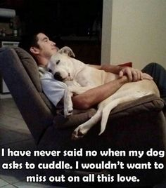Dogs = Love
