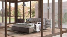 #homedecor #interiordesign #inspiration #decoration #bedroom #bedroomdecor News Design, Bedside, Space Saving, Two By Two, Showroom, Bedroom Decor, Shelves, Flooring, Interior Design