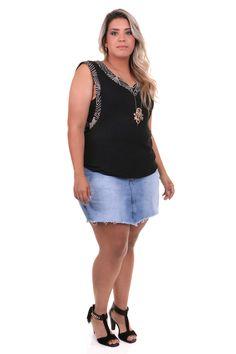 Short´s sais jeans plus size