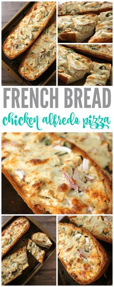 I have a DELICIOUS new recipe for you to try today! This great French Bread Chicken Alfredo Pizza Recipe is tasty and easy to make! This is the perfect french bread pizza that everyone will definitely love!