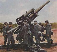 Spain - 1937. - La Batalla por Madrid -Nov.1936 -Jul.1937. - GC - Mundo Historia Cañón Flack 88 mm. 1937 alemán
