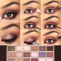 Eye Makeup - Love this step-by-step pictorial by Kate V and the gorgeous look she created with our Chocolate Bar Palette! - Ten Different Ways of Eye Makeup Chocolate Bar Makeup, Chocolate Bar Palette Looks, Chocolate Bar Too Faced, Chocolate Bars, White Chocolate, Chocolate Eyeshadow Palette, Makeup Goals, Makeup Inspo, Makeup Inspiration