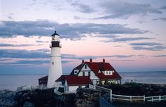 Lighthouses of America:George Washington ordered the construction of the Portland Head Light Station, located in Cape Elizabeth, Maine | Away.com