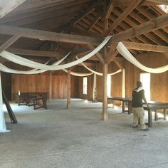 Boone Hall cotton dock draping by pure luxe bride