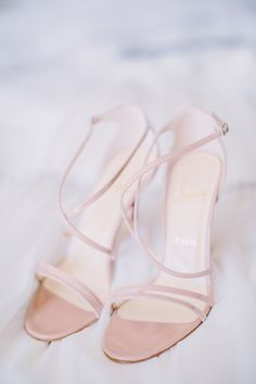 Strappy sandals are always timeless: http://www.stylemepretty.com/2015/08/25/classic-wedding-details-that-stand-the-test-of-time/: