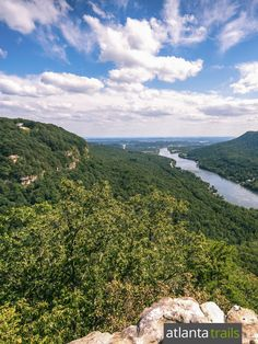 Hike the Cumberland Trail from Signal Point, catching outstanding Tennessee River Gorge views from the Julia Falls Overlook and Edwards Point. Signal Mountain Tennessee, Tennessee River, Hiking In Georgia, Beautiful Forest, Mountain Hiking, Planet Earth, Beach Trip, Hiking Trails, Cool Places To Visit