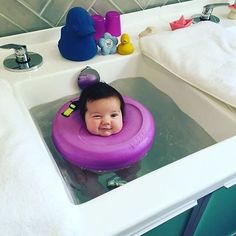 People Can't Handle How Cute These Baby Spa Photos Are | Bored Panda