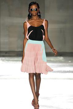 Prada Spring 2012 Ready-to-Wear Fashion Show - Jasmine Tookes