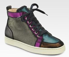 Christian Louboutin sneakers? Really?