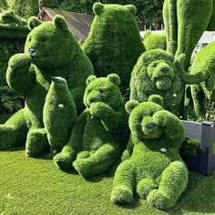Topiary London in bloom at the Chelsea Flower Show Chelsea Flower Show, Topiary Garden, Garden Art, Topiaries, Garden Grass, Garden Totems, Garden Whimsy, Garden Junk, Garden Sheds