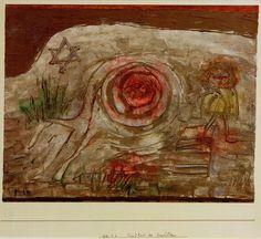 Paul Klee, Kindheit des Erwählten (Childhood of the Chosen One), 1930