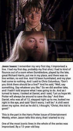Harry Potter, Jason Isaacs, Daniel Radcliffe, Richard Harris and Chris Columbus - Harry and Lucius Harry Potter Facts, Harry Potter Love, Harry Potter Fandom, Harry Potter Books, Richard Harris, Estilo Harry Potter, Harry Porter, Fans D'harry Potter, Potter Box