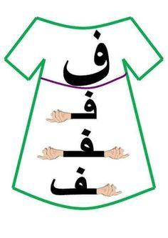 Arabic Alphabet Letters, Arabic Alphabet For Kids, Guided Reading Activities, Arabic Lessons, Teaching Aids, Arabic Language, Learning Arabic, Alphabet Activities, Arabic Words